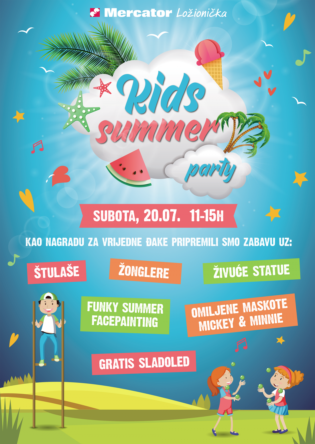 mercator summer kids party 4